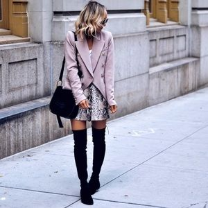 Marc Fisher black suede over the knee boots